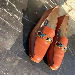 Womens bally loafers